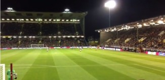 Chelsea fans Burnley