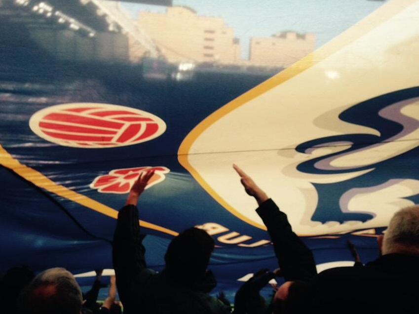Chelsea banner Matthew Harding Upper
