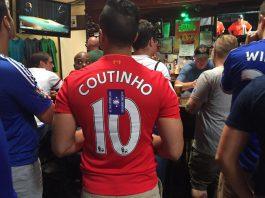 Liverpool chelsea fans