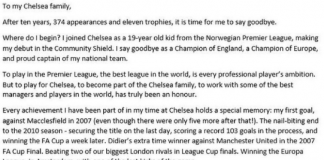 John Obi Mikel Chelsea Legend - do you agree?