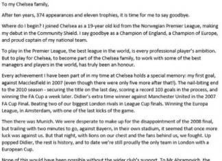 John Obi Mikel Chelsea Legend - do you agree?