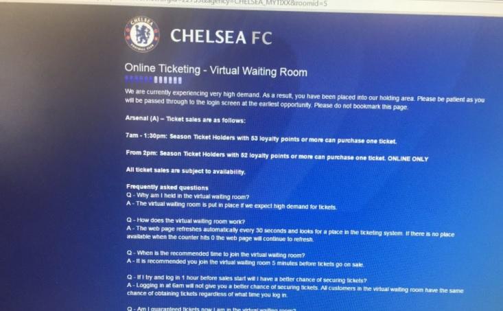 Buy Chelsea Tickets